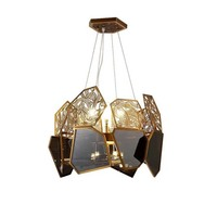 Modern luxury crystal pendant light indoor hanging lamp pendant light chandelier