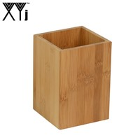 Wholesale Wood Kitchen Tool Holder OEM Flatware Cooking Tools Storage Container Wood Utensil Holder