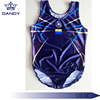 Professional custom design shine sublimation sleeveless Leotards