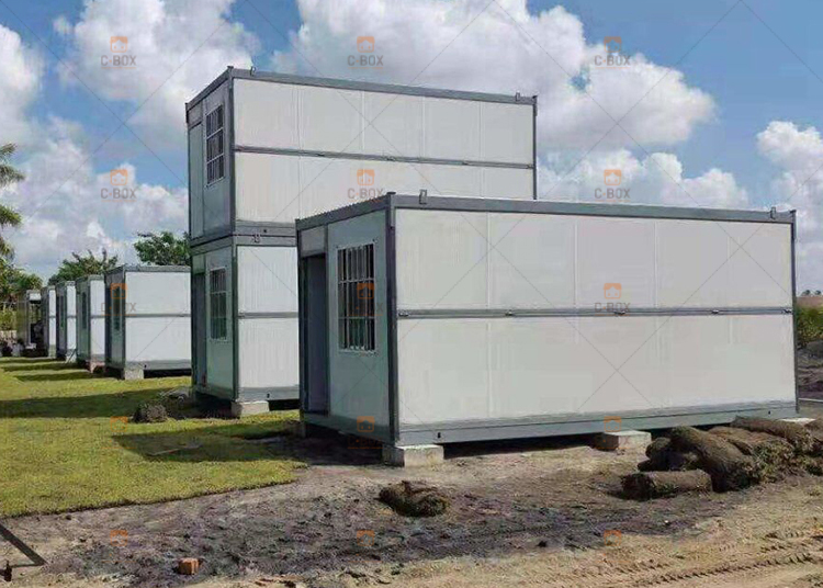 Foldable container house case