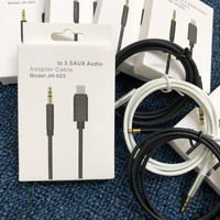 High Quality for lightning to 3.5mm Aux Audio Adapter Cable For iphone Car Stereos Headphone Speaker Mobile phone