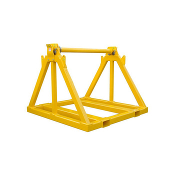 OEM Cable Drum Stand Jack Wire Reel and Cable Reel Pallet Stands
