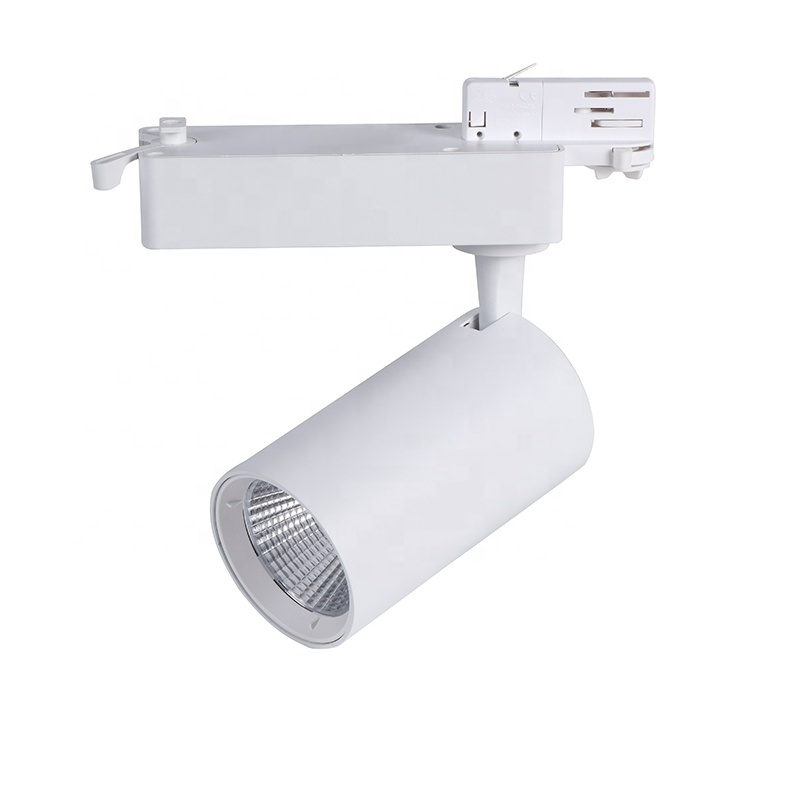high power track light cob 45w led track light for retail store lighting
