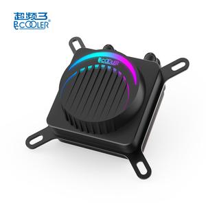PCCOOLER is master in China corona RGB liquid all in one 240mm radiator dual fan TDP 250W 5V 3PIN addressable LGA AMD cpu cooler