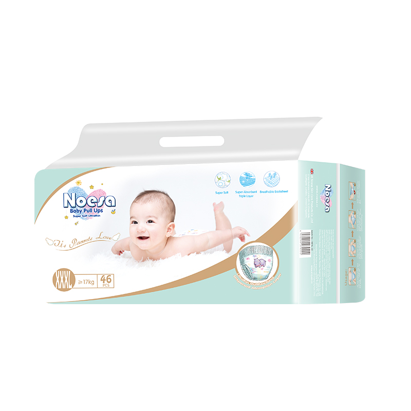 Noesa UK brand distributors wanted 100% cotton honey 3d printing happy baby diaper Non- Woven High Quality Baby Diapers