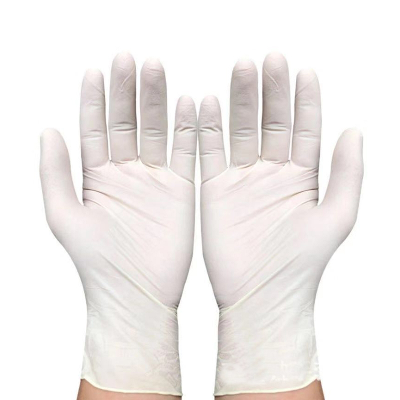 9 inch nitrile latex anti-static oil-proof acid and alkali resistant PVC gloves