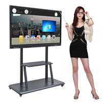 China cheap price touch screen whiteboard smart board electronic multimedia interactive digital big white board for sale