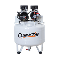 Quiet oil free silent type dental medical air compressor for dental lab