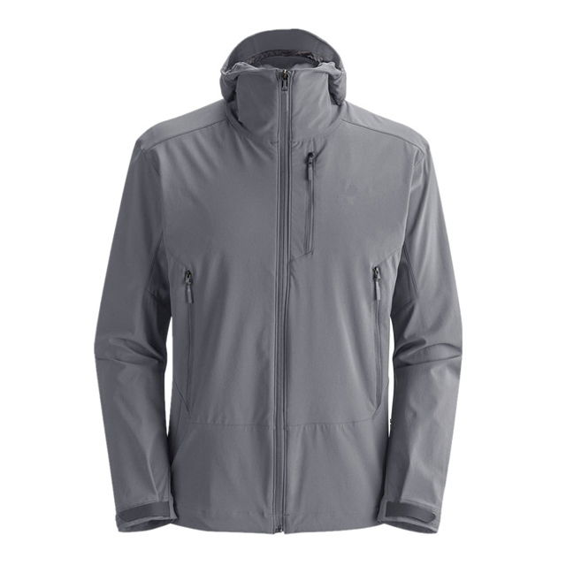 2019 Top Sale Grey Waterproof Outdoor Jacket Cheap Windbreaker For Men's