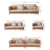 New sectionals 4 seats contemporary luxury living room furniture covers elastic stretch fabric sofa sets with wooden legs