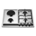 Gas Steel Cooktops Gas Gas Cooktop Gas Kitchen Stove Top Stainless Steel Gas Cooker Gas Cooktops For NG Or LPG With 4 Burners