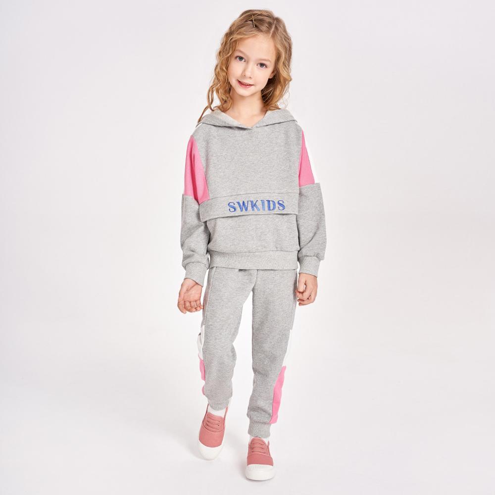 Fancy Kids Grey Sweatsuit Casual / Men Boys Girls Unisex Custom Tracksuit