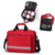 Professionelle multifunktions durable red farbe outdoor camping medical spezifikation von first aid kit tasche