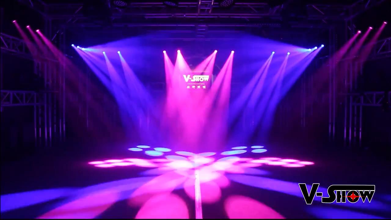 V-Show  USA warehouse 150W led spot moving head light stage moving light led stage lighting dj club