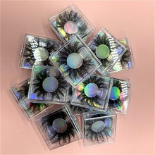 3d/5d/6d nerz wimpern mini koffer verpackung box 15mm -25mm nerz wimpern reise fall