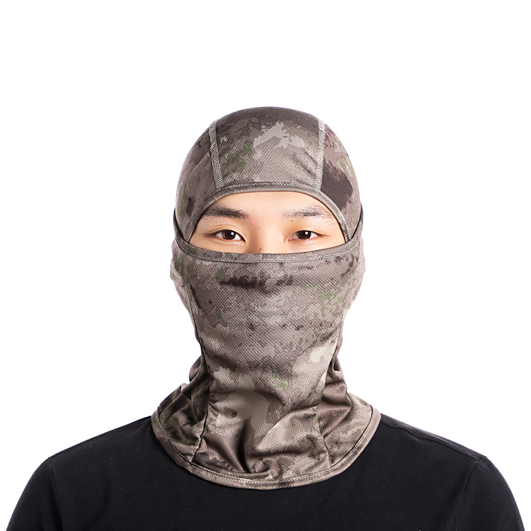 Free shipping Outdoor Cycling Motorcycle Hunting Military Tactical Helmet Liner Gear Full Face Mask Camouflage Balaclava