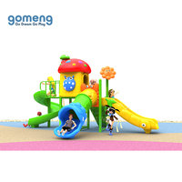 Funny plastic colorful high quality commercial kids games outdoor playground