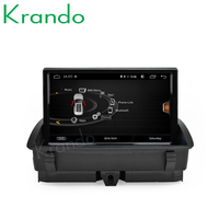 "Krando 8"" car dvd audio radio player Android 8.0 4+64G Telescopic screen gps for Audi Q3 navigation 2011-2017 TV BT DVR IPOD"