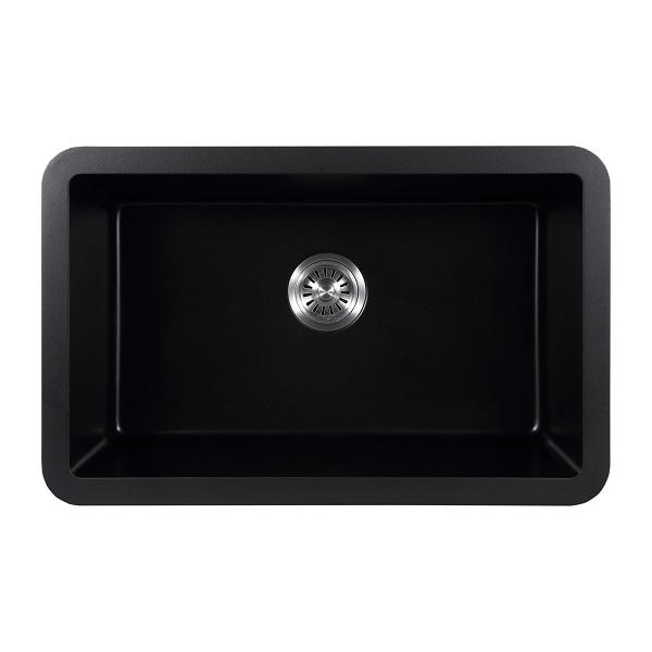 EJOY High Quality Customized Hotel Home Restaurant Farm use XW7648 artifical stone quartz granite apron sink