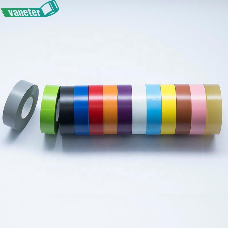 באיכות גבוהה גומי דבק PVC חשמלי בידוד קלטת