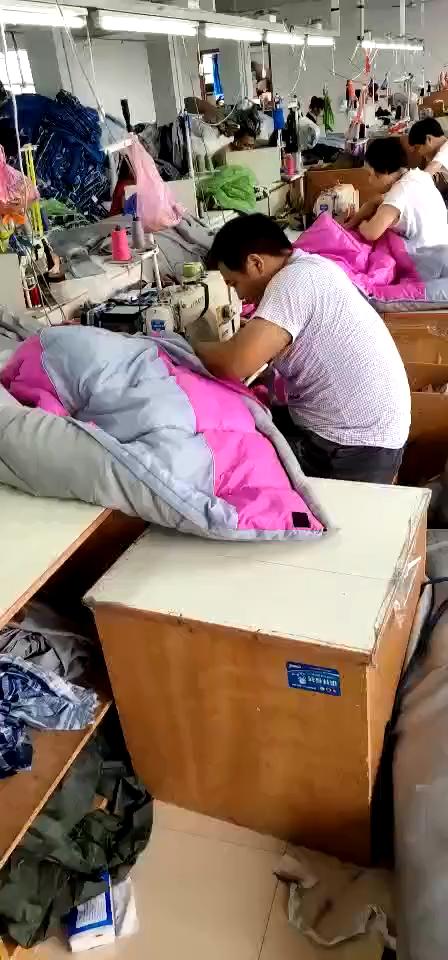 ผู้ใหญ่กลางแจ้ง Ultralight ถุงนอนสามารถที่กำหนดเอง