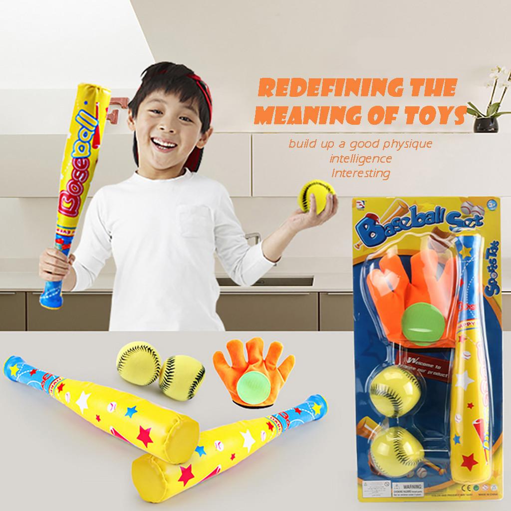 Baseball Bat Toys Plastic Toddler Baseball Bat Baseball Racket Batting Practice Equipment for Training