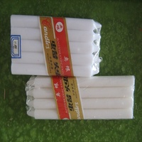 custom candle packaging flameless white candles for church