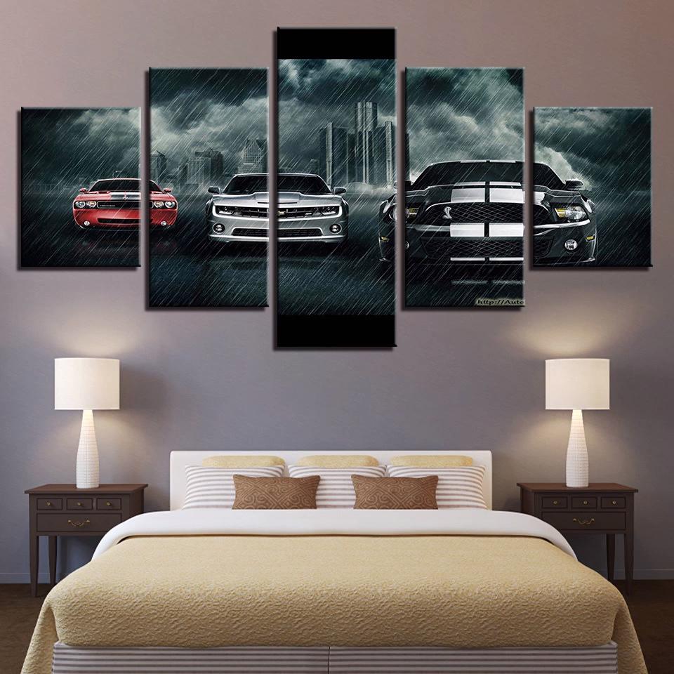 Car Poster Canvas Print Photo Wall Decor Hd Canvas Print