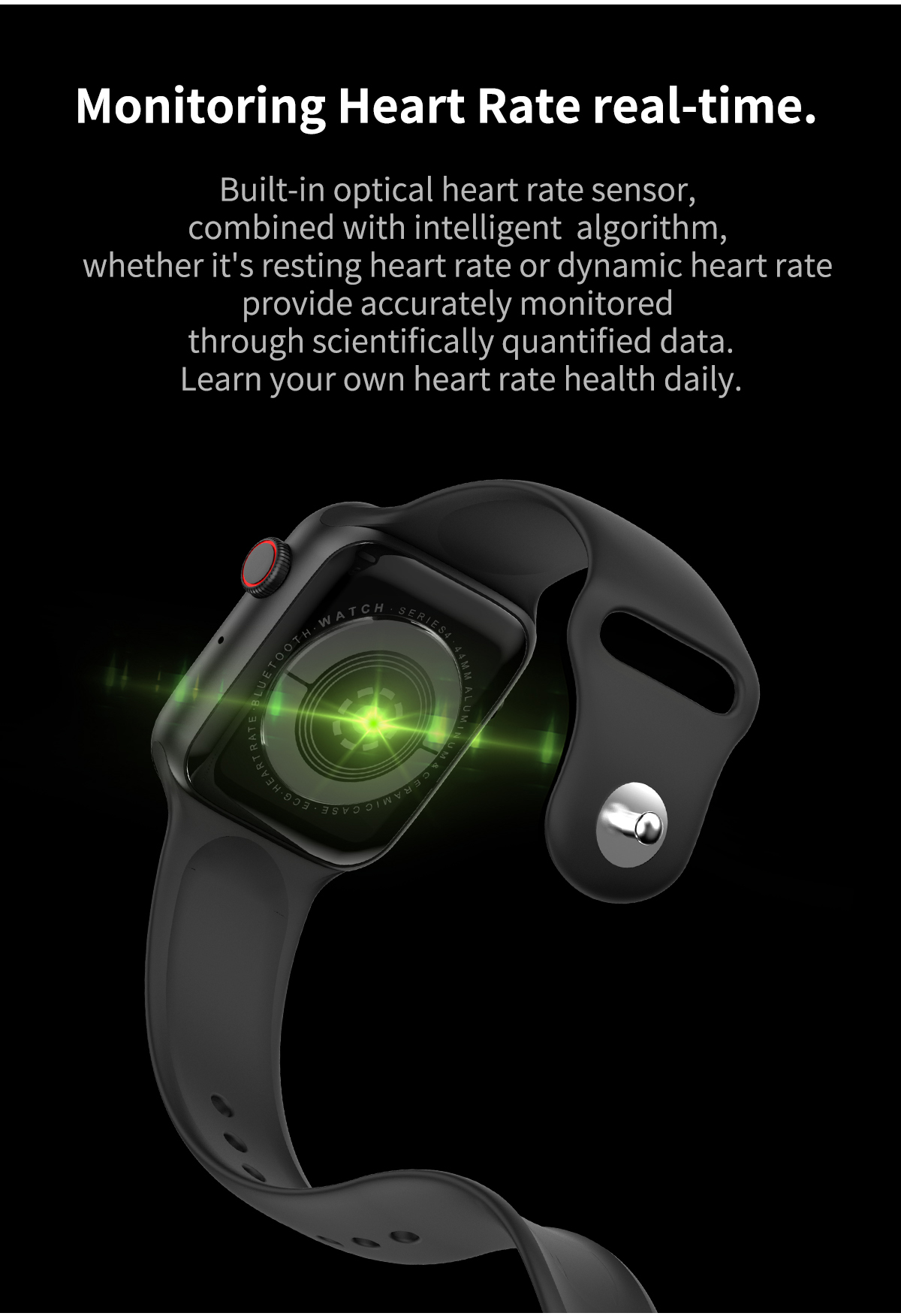 New W34 smart watch Bt call ECG heart rate monitoring sports tracking ip67 for IOS Android bracelet W34
