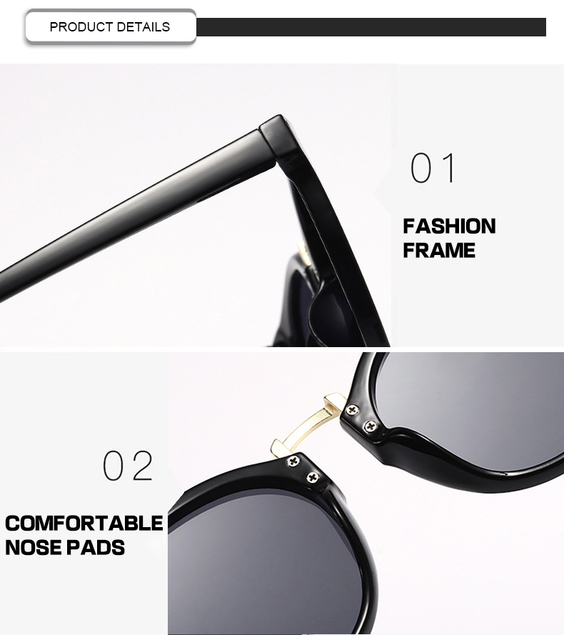 Fuqian womens white polarized sunglasses Suppliers-7