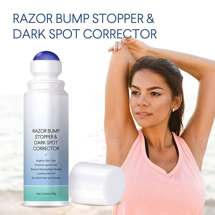 OEM After Shave Razor Bump Stopper, Waxing Skin Care Solution for Soothes Skin Prevents Ingrown Hairs with Dark Spots Remova