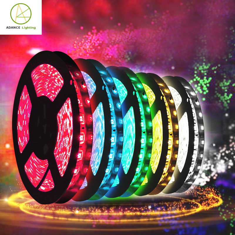 Warehouse Drip tape waterproof Light 5050 Smd Addressable 12v Flexible Led Strip