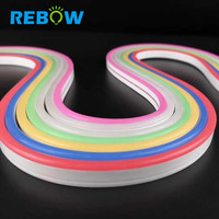 New product 12v 24v led flexible neon strip light 6mm top view led neon flex