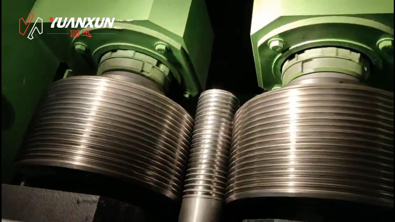 المصنع مباشرة مبيعات الهيدروليكية الموضوع رود ماكينة لف خيط التخريش آلة التصنيع باستخدام الحاسب الآلي ماكينة لف خيط السعر