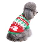 Dog Clothes Factory High Discount Sale Fashions Luxury Winter Sweaters Christmas Small Pet Dog Clothes