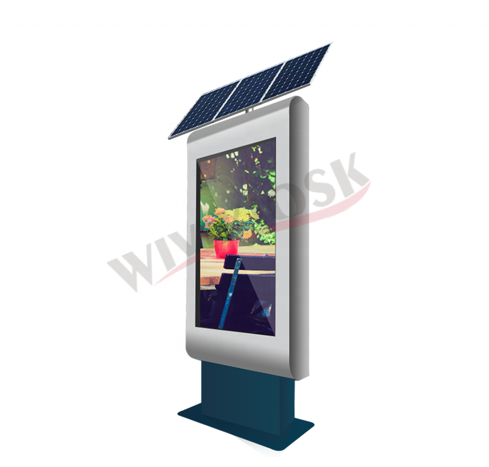 Solar Power Werbung Display