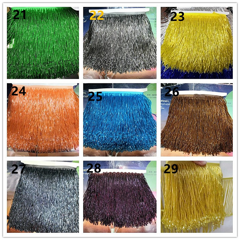 High Quality More Choice Beaded Fringe Trim for Dress Decoration