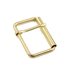 Wholesale Customization Zinc Alloy Gold Plated Belt Buckle For Coat