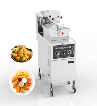 Automatic Stir Fry Machine MDXZ-25 Gas Pressure Fryer Commercial Kitchen Deep Fryer