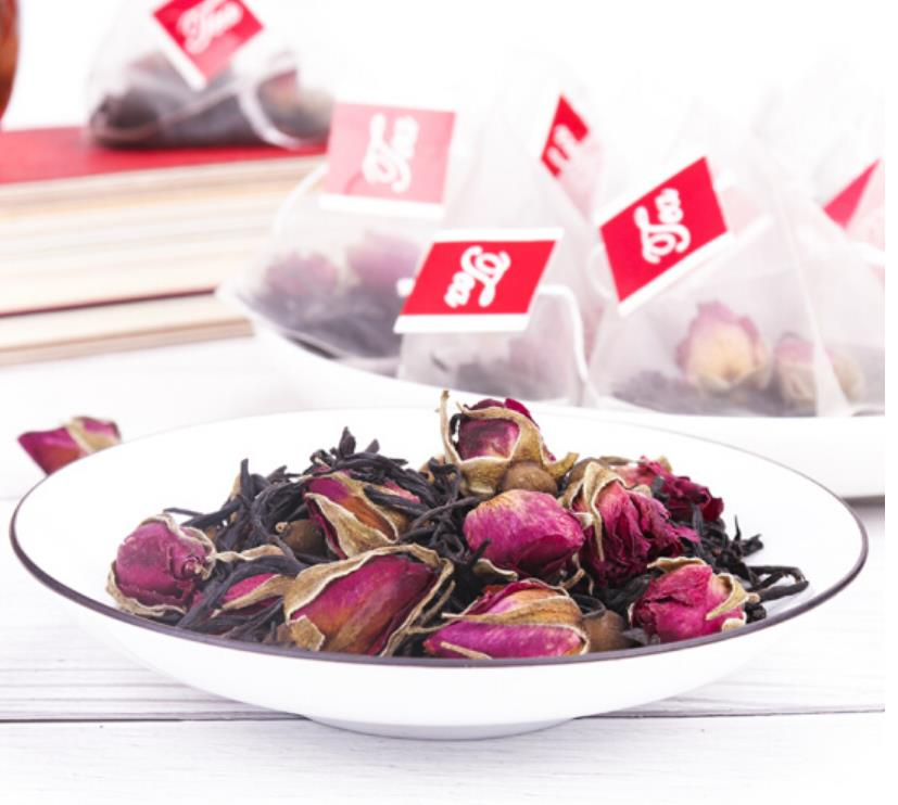 Top Quality Slimming Tea Rose Black Tea Triangular Tea Bags - 4uTea | 4uTea.com