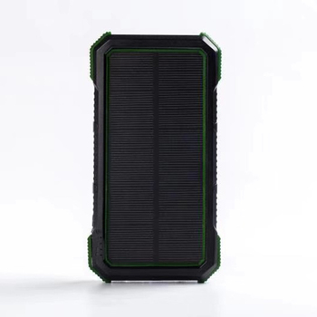 Newest Developed Water Proof Wireless Solar Power Bank 20000mAh for Outdoor Using