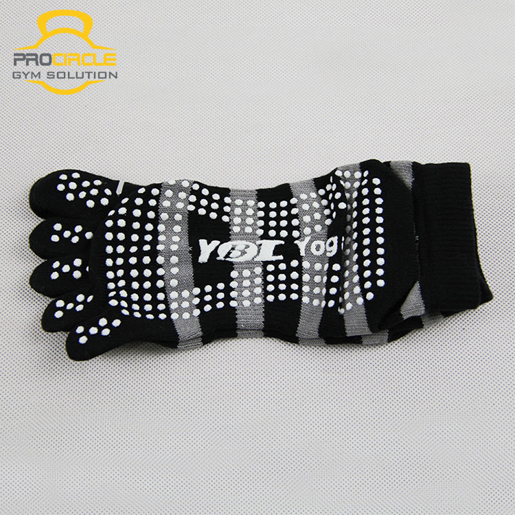 Custom Logo Anti Slip Female Yoga Cotton Socks