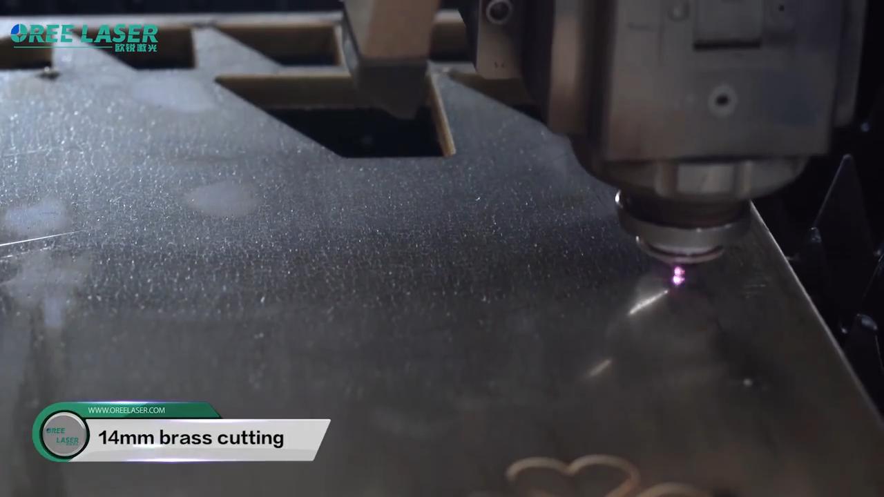 最高品質の1000wファイバーレーザー板金切断機