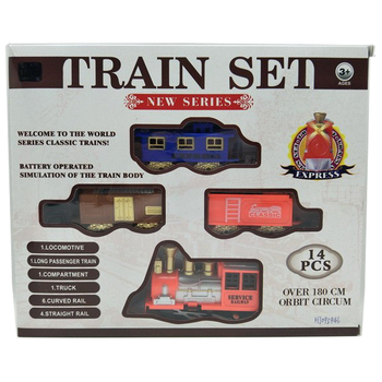 high quality hot sale Mini electric toy power plastic train sets with light