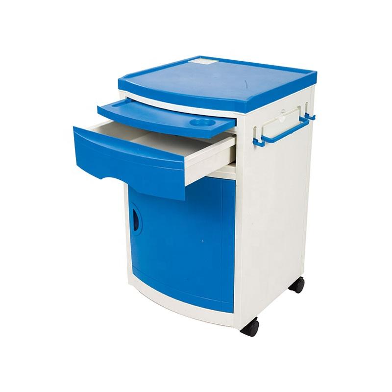 Manufacturer ABS Hospital Bedside Cabinet / Table / Lockers