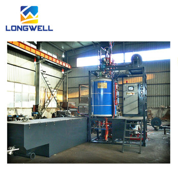 Longwell Automatic EPS Foaming Beads Machine Batch Pre-expander