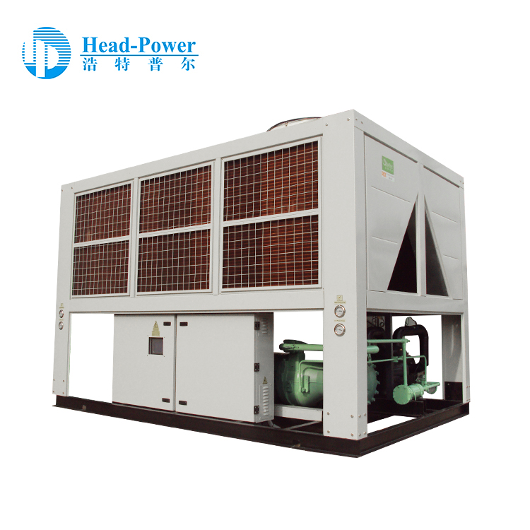 250 ton screw compressor air cooled chiller with heat pump in the philippines