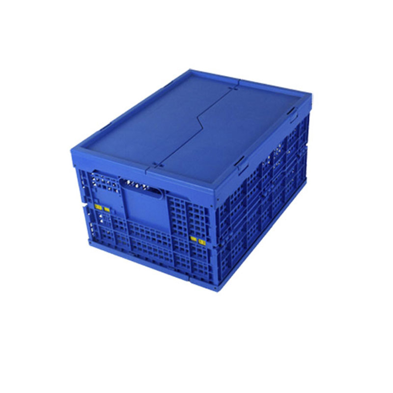 Customized Stackable Industrial Vegetable Plastic Mesh Folding Crates