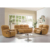 Leather  gel Living room  Recliner loveseat reclining 2 seater