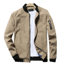 <span class=keywords><strong>Mannen</strong></span> Slim Fit Lichtgewicht Softshell Vlucht Bomber Jacket Coat